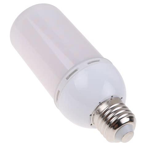 special effects light bulbs led e27 5w flicker effect light bulb warm white