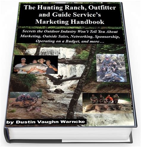 Outdoor Channel Outfitters Guide Recommended Gear Giveaway - outfitter marketing handbook dustin vaughn warncke s blog