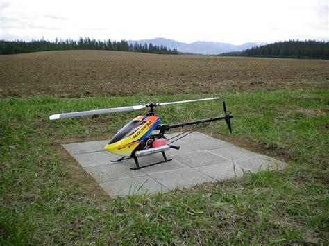 backyard helicopter wind was bad built a helipad instead helifreak