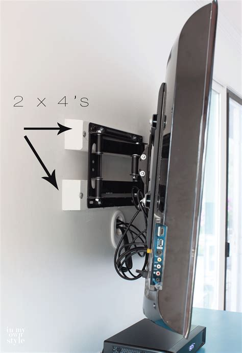where to put tv installing a swivel tv mount and hiding tv cords cable