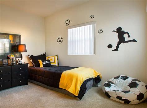 soccer themed room soccer themed boys room