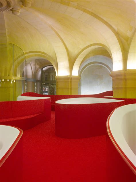 red house design studio jingdezhen the opera garnier restaurant studio odile decq archdaily