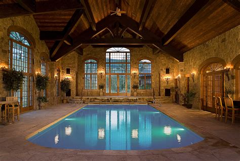 Indoor Swimming Pools To Inspire House Plans With Indooroutdoor Pool
