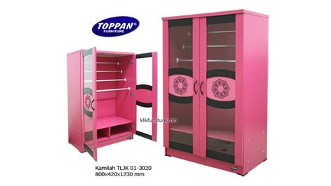 Rak Display Jilbab tljk 01 3020 lemari jilbab pink toppan terlengkap dan