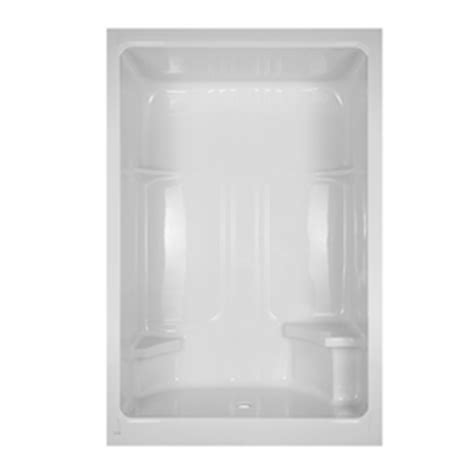 Aqua Glass Shower by Shop Aqua Glass 90 In H X 35 In W X 60 In L Acrylic Showers White 1 Shower At Lowes