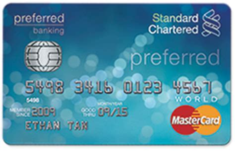 Credit Card Application Form Standard Chartered Bank 10 Best Standard Chartered Credit Cards In India