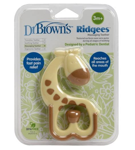 Teether Baby Teether Dr Browns Giraffe dr brown s teether ridgees giraffe