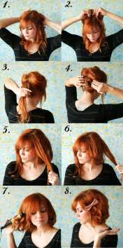 Tuck And Roll Interior How To Style Long Hair Short A Beautiful Mess