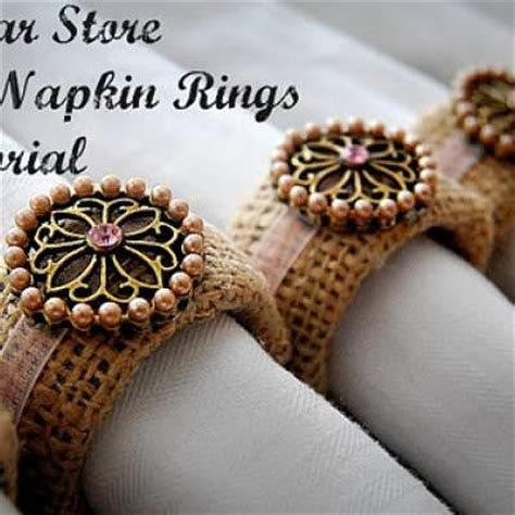 diy burlap napkin rings 1000 images about eclat table linens on