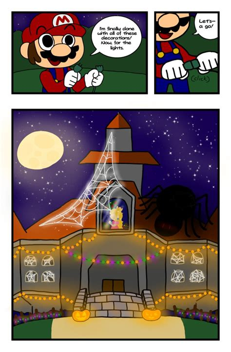Mario Bros Frustration Unites Profanity And Gaming by The Mario Bros And The Spooky Curse Page 2 By Emytoons