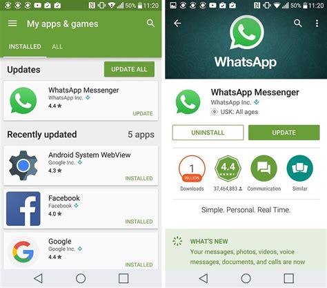 Play Store Whatsapp Update Whatsapp Updaten So Habt Ihr Immer Die Aktuelle Version