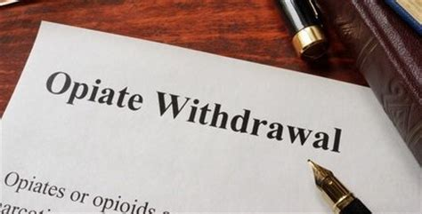 How To Help A Friend Detox From Opiates by Opiate Withdrawal Symptoms Assessment Treatment