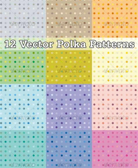 illustrator pattern dots free dots vector patterns graphicriver