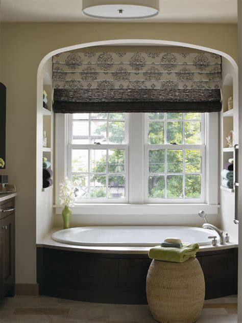 window covering for bathroom shower tudor revival traditional bathroom minneapolis by