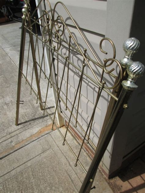 Metal And Footboard by Metal And Footboard For Your Garden Thriftyfun
