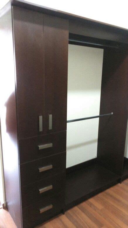 vestidor wengue vestidor en melamina wengue cl 243 set y walking cl 243 set