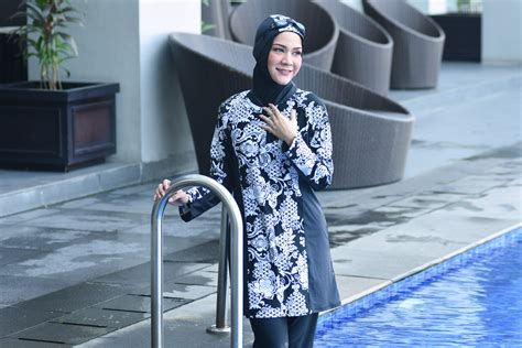 Baju Renang Ammara amr56b s baju renang ammara baju tidak bersambung dengan seluar haleema swimwear