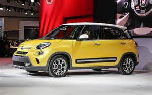 Yellow Fiat 500l 2014 Fiat 500l Release Date Yellow Top Auto Magazine