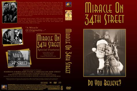 Miracle On 34 Street miracle on 34th street movie dvd custom covers