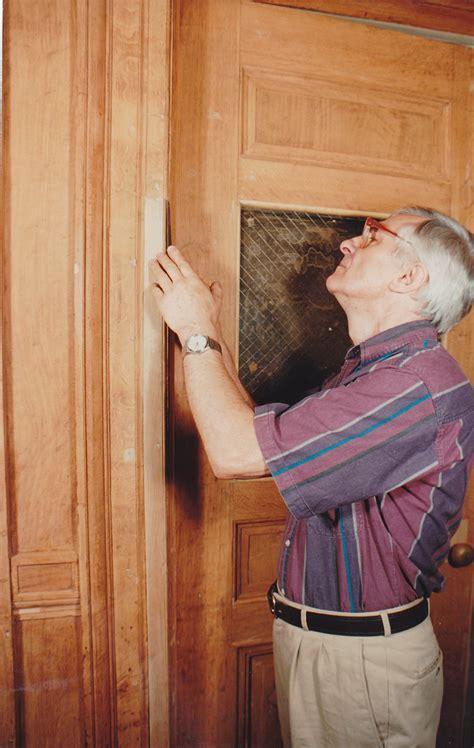 Baruch College CUNY Woodwork Restoration, Historic English