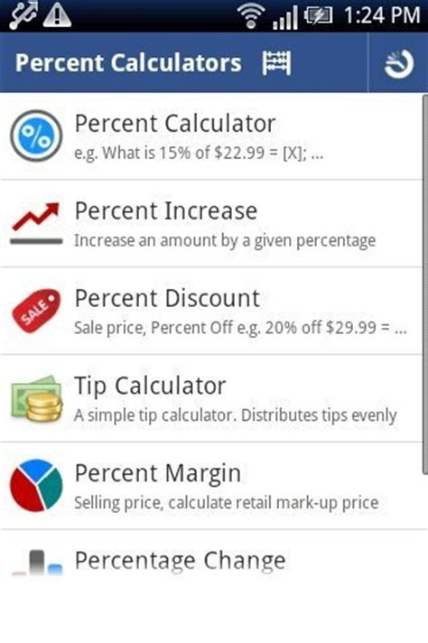 calculator percentage 5 free calculator apps for android