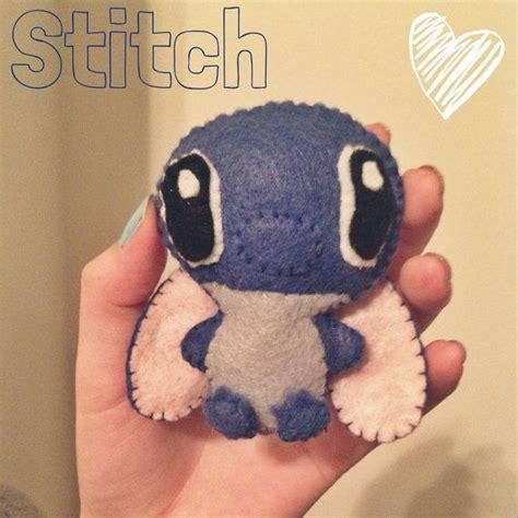stitches manualidades lilo and stitch i want it llaveros de fieltro fieltro