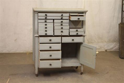 Arts And Crafts Storage Drawers by 1910s Arts Crafts Multi Drawer Wooden Dental Cabinet