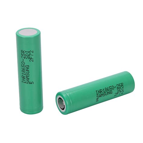 Samsung Inr 18650 25r Li Ion Battery 2500mah 3 7v With Flat Top Samsung Inr18650 25r 3 6v 2500mah Li Ion Flat Top Batteries