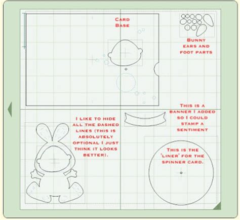 tutorial carding lewat hp glora s crafts bunny hugs card and picture tutorial