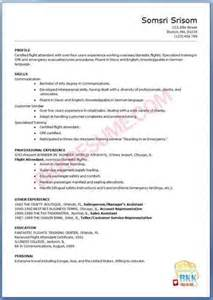 resume objective 187 flight attendant resume objectives