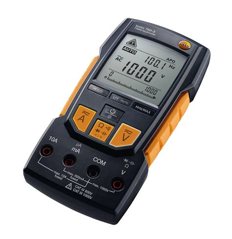 a testo testo 760 3 digital multimeter resistance electrical