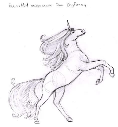 Drawing Unicorns by How To Draw Unicorn Step By Step Arcmel