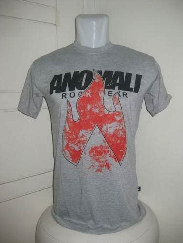 Tshirt Kaos Distro Anomali Promo dinomarket pasardino kaos distro promo anomali 005 grey l