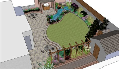 Designing A Garden Layout Willow Garden Design Garden Design Planning A New Garden