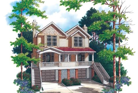 Lakeview House Plans by House Plan 4017 The Lakeview