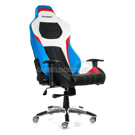 Racing Chair Gaming by Ak Racing Premium V2 Gaming Chair White Blue Ocuk