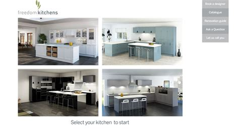 freedom furniture kitchens freedom kitchens kitchen customiser completehome