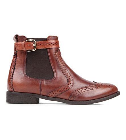 s low boots carvela leather chelsea boots selfridges