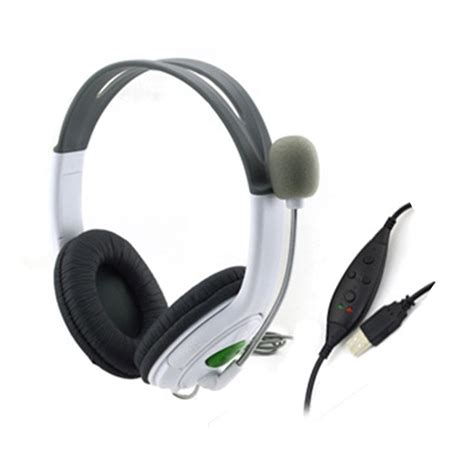 Headset Gaming Usb usb wired live gaming headset headphone microphone for ps3 pc laptop ol ebay