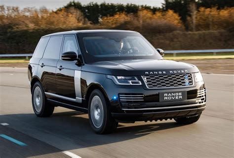 land rover 2019 2019 range rover sentinel revealed ultimate armoured suv