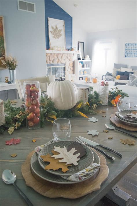 fall table settings ideas fall entertaining table setting ideas 1 of 1 our house