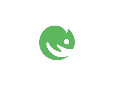 hand chameleon logo design by dalius stuoka dribbble