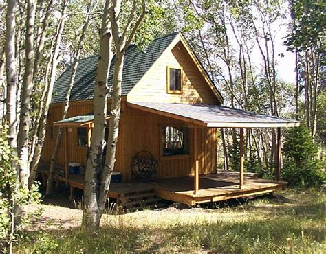 build a cottage build small cabin in woods small cabin building plans
