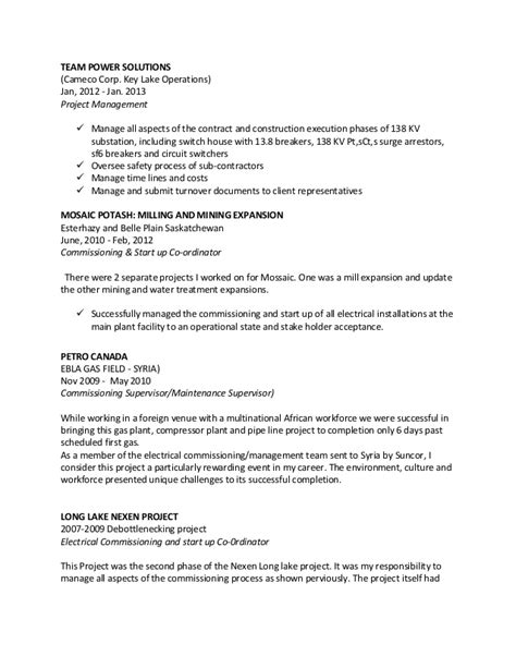 High Voltage Electrician Sle Resume by Garry Resume Seal Industrial Electrician