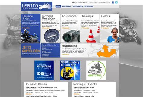 Motorradtouren Online Planen by Lerito Zusammen Fahren Motorrad News