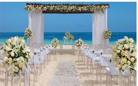 Potential wedding setup at Dreams Punta Cana, Resort & Spa