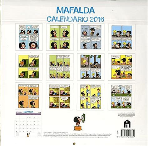 calendario mafalda 2016 mafalda che stress calendario parete 2016