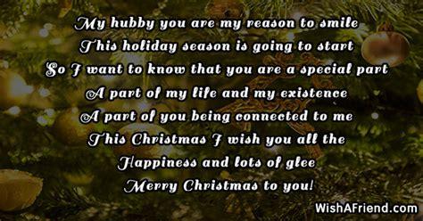 hubby    reason christmas message  husband