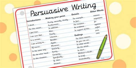 1000 ideas about persuasive writing exles on