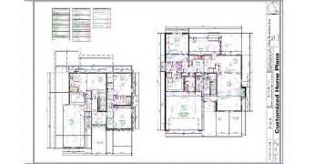Plumbing Floor Plan by Complete Custom Home Design Services Offered Nationwide
